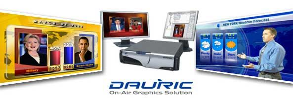 DAURIC On-Air Graphics